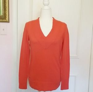 LILLY PULITZER coral cashmere sweater
